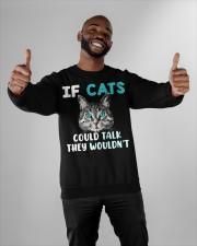 Cat lover's Products Crewneck Sweatshirt apparel-crewneck-sweatshirt-lifestyle-front-05