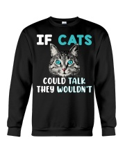 Cat lover's Products Crewneck Sweatshirt front