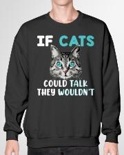 Cat lover's Products Crewneck Sweatshirt garment-crewneck-sweatshirt-front-01