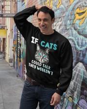 Cat lover's Products Crewneck Sweatshirt lifestyle-unisex-sweatshirt-front-4