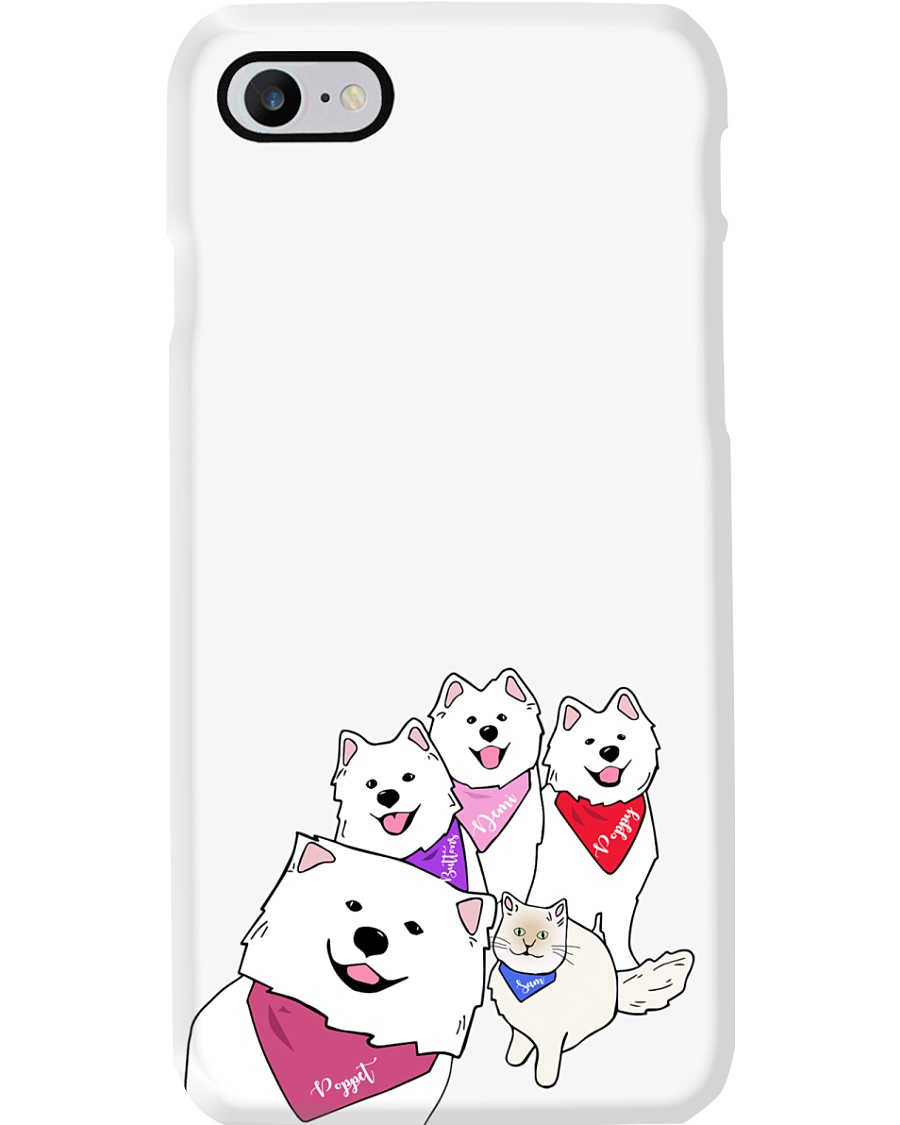 Poppet and the Wolfpack Group Selfie Phone Case