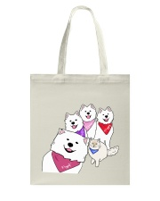 Poppet and the Wolfpack Group Selfie Tote Bag thumbnail