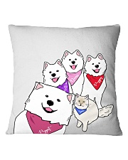 Poppet and the Wolfpack Group Selfie Square Pillowcase thumbnail