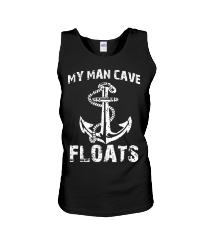 Military My Man Cave Floats Funny Boating