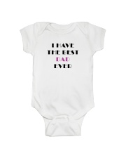 Limited Edition - Available for a short time  Onesie front