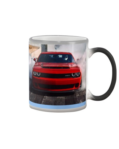 Hellcat - High quality Color Changing Mug