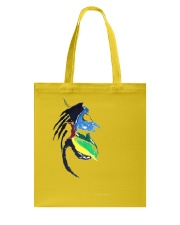Vintage Safari Lion Skull Tote Bag thumbnail