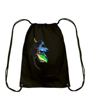 Vintage Safari Lion Skull Drawstring Bag thumbnail