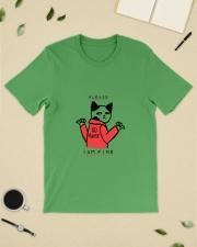 A Cute Cat No Wanting Company Go Away I am Fine  Premium Fit Mens Tee lifestyle-mens-crewneck-front-19