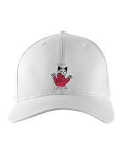 A Cute Cat No Wanting Company Go Away I am Fine  Embroidered Hat thumbnail