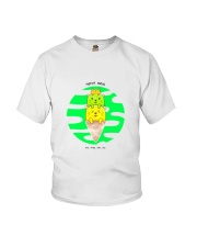 Super Cute Kitties With Their Mother Knows Meow Youth T-Shirt thumbnail