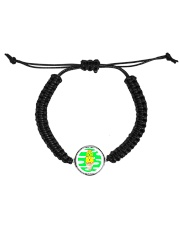 Super Cute Kitties With Their Mother Knows Meow Cord Circle Bracelet thumbnail