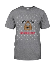 The Mysterious Eye Can You See Me Classic T-Shirt front