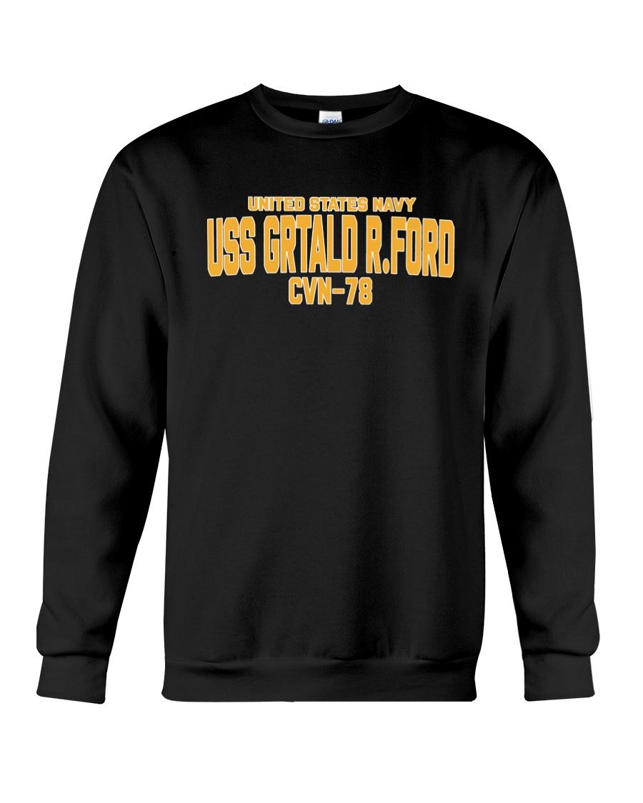 Uss Gerald R. Ford Cvn-78 Hoodie