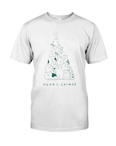 MERRY CATMAS T Shirts Hoodie Sweatshirt