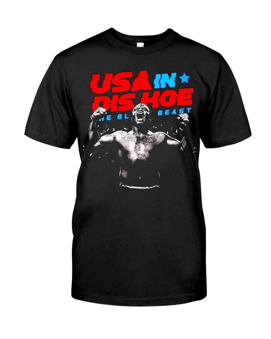 USA In Dis Hoe T Shirts Hoodie Sweatshirt Classic T-Shirt