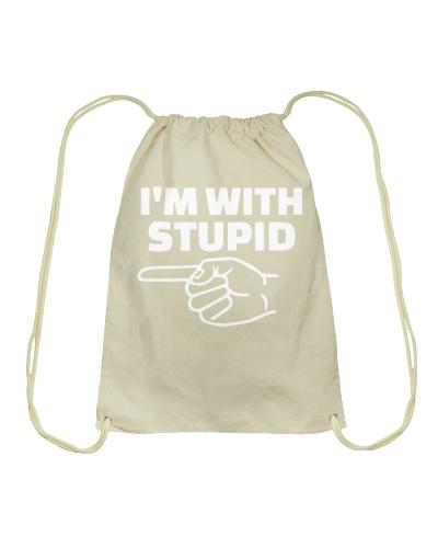 I'm With Stupid T Shirt Hoodie Sweatshirt