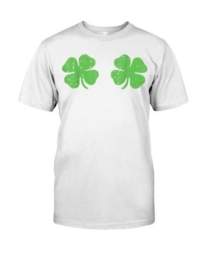 Irish Shamrock Boobs Saint St Patricks Paddys Day