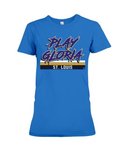 Play Gloria Louis Blues T Shirts Hoodie