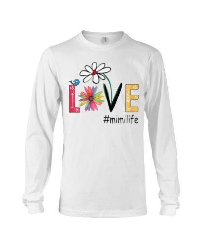 Mom Love Mimi life T Shirts Hoodie Sweatshirt