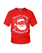 Don't Stop Believin Christmas T Shirts Hoodie Youth T-Shirt thumbnail