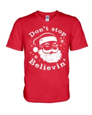 Don't Stop Believin Christmas T Shirts Hoodie V-Neck T-Shirt thumbnail