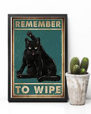 Cat Remember To Wipe Posters 11x17 Poster lifestyle-poster-8