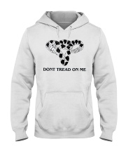 Don't Tread-On Me Uterus T-Shirts Hoodie Hooded Sweatshirt front