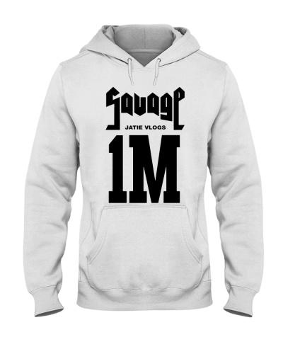 jatie vlogs merch 1M T Shirt Hoodie Sweatshirt
