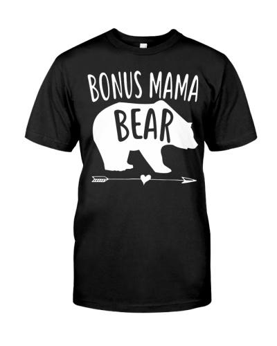 Bonus Mama Mom Bear T-Shirts Hoodie