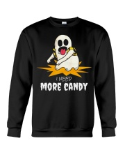 I Need More Candy Ghost T Shirts Halloween 2018 Crewneck Sweatshirt thumbnail
