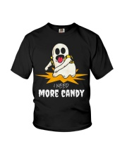 I Need More Candy Ghost T Shirts Halloween 2018 Youth T-Shirt tile