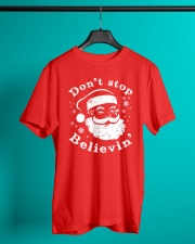Don't Stop Believin T-Shirts Christmas Shirts Classic T-Shirt lifestyle-mens-crewneck-front-3