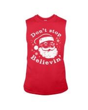 Don't Stop Believin T-Shirts Christmas Shirts Sleeveless Tee thumbnail