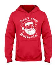Don't Stop Believin T-Shirts Christmas Shirts Hooded Sweatshirt thumbnail