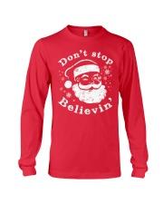 Don't Stop Believin T-Shirts Christmas Shirts Long Sleeve Tee thumbnail