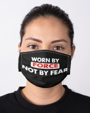Worn By Force Not By Fear Face Masks Facemask Cloth face mask aos-face-mask-lifestyle-01