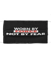 Worn By Force Not By Fear Face Masks Facemask Cloth face mask front