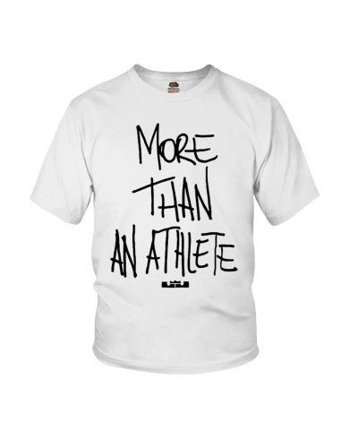 More Than An Athlete T Shirts Hoodie