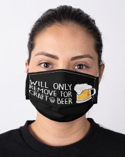 will only remove for craft beer Mask Cloth face mask aos-face-mask-lifestyle-01