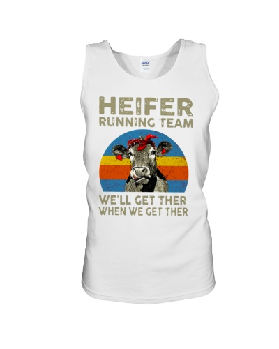 Heifer Running Team We'll Get There When We TShirt