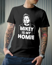 Mikey is my Homie T Shirt Hoodie Halloween 2018 Classic T-Shirt lifestyle-mens-crewneck-front-6