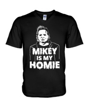 Mikey is my Homie T Shirt Hoodie Halloween 2018 V-Neck T-Shirt thumbnail