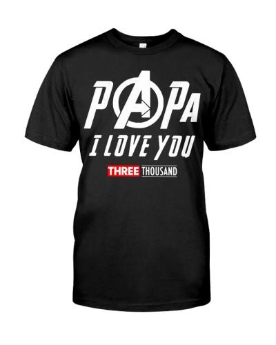 Dad I Love You Three Thousand T-Shirts Hoodie