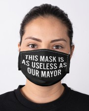 This Mask Is As Useless AS Our Mayor FACE Masks Cloth face mask aos-face-mask-lifestyle-01