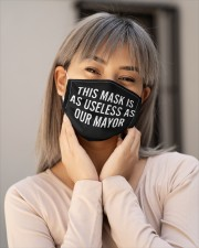 This Mask Is As Useless AS Our Mayor FACE Masks Cloth face mask aos-face-mask-lifestyle-17