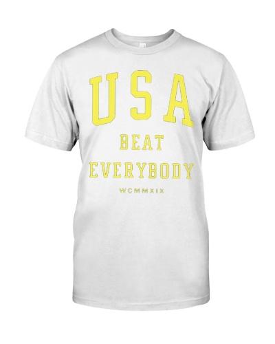 Usa Beat Everybody T Shirts Hoodie Sweatshirt
