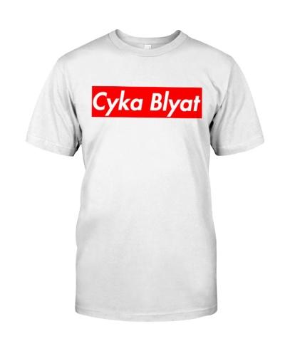 Cyka Blyat T-Shirts Hoodie Sweatshirt