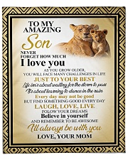 """SON LION I'M ALWAYS WITH YOU Fleece Blanket - 50"""" x 60"""" front"""