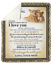 """SON LION I'M ALWAYS WITH YOU Sherpa Fleece Blanket - 50"""" x 60"""" thumbnail"""